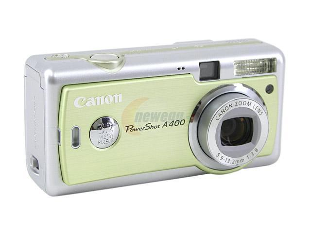 Canon PowerShot A400 Green 3.2MP Digital Camera
