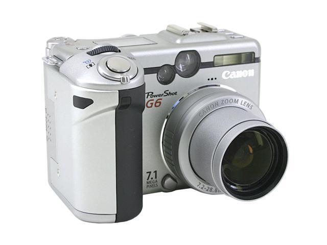 Canon PowerShot G6 2-Tone 7.1MP Digital Camera