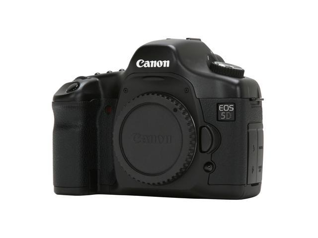 Canon EOS 5D Black 12.8 MP Digital SLR Camera - Body Only