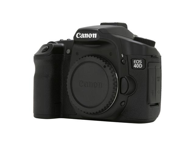 Canon EOS 40D Black 10.1 MP  Digital SLR Camera - Body Only