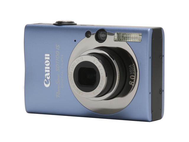 Canon PowerShot SD1100 IS Blue 8.0 MP Digital Camera