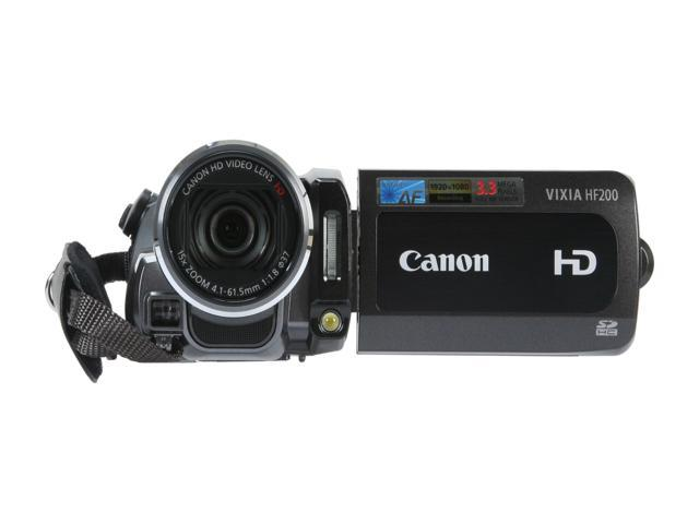 Canon VIXIA HF200 High Definition Flash Memory Camcorder