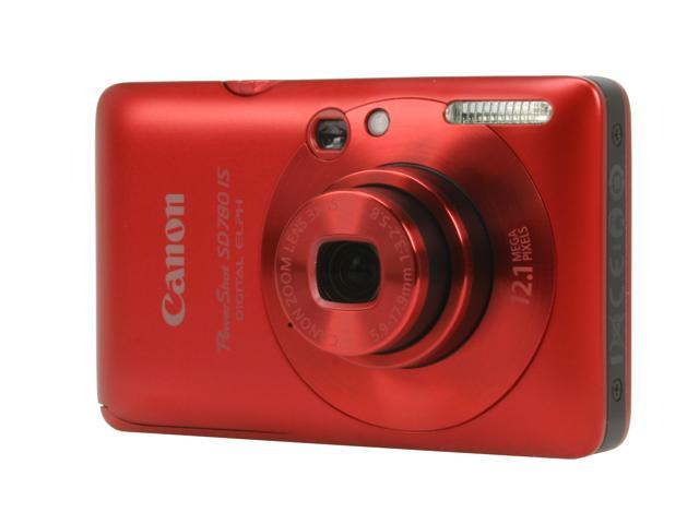 Canon PowerShot SD780 IS Red 12.1 MP Digital Camera