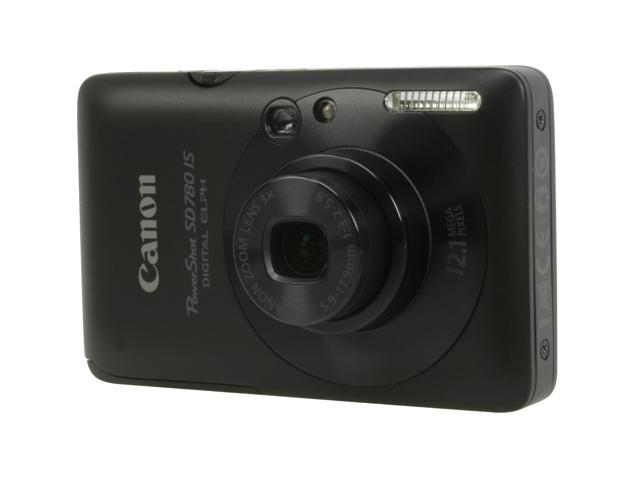 Canon PowerShot SD780 IS Black 12.1 MP Digital Camera