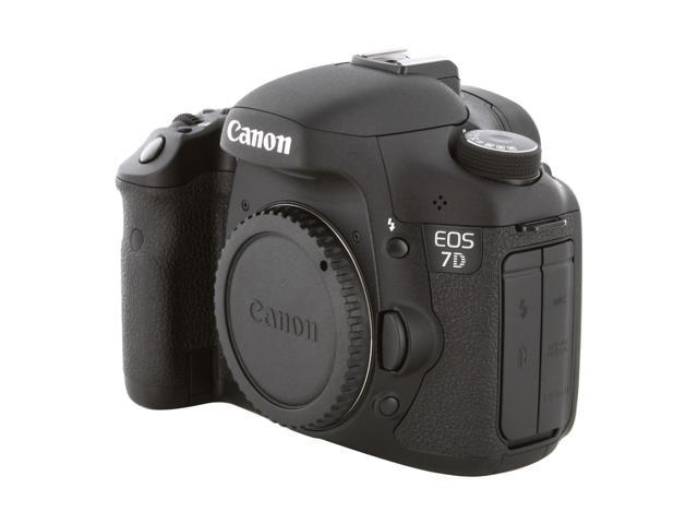 Canon EOS 7D 3814B004 Black 18.0 MP Digital SLR Camera - Body Only
