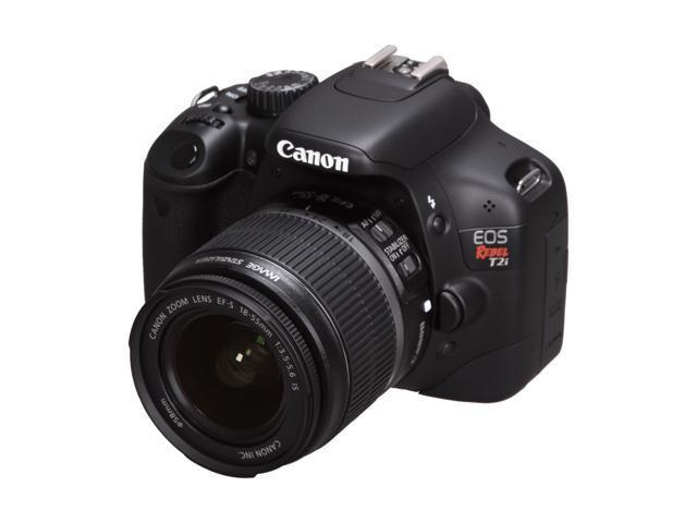 Canon EOS Rebel T2i Black Digital SLR Camera - Body Only