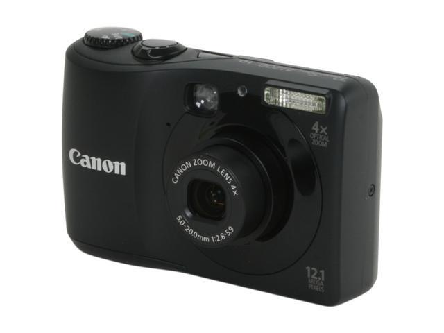 Canon A1200 Black 12.1 MP Digital Camera