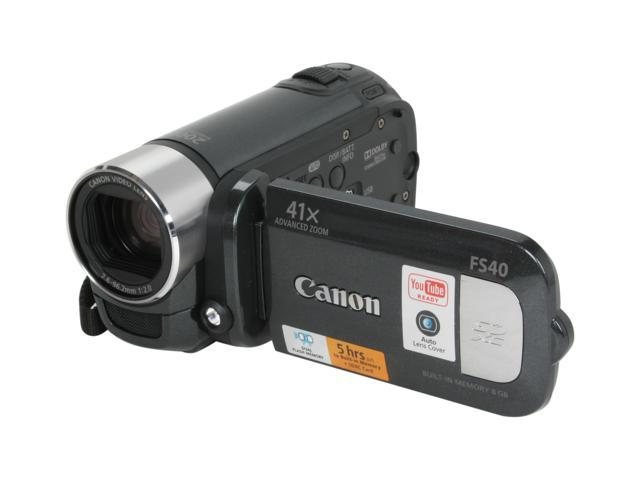 Canon FS40 Black HDD/Flash Memory Camcorder