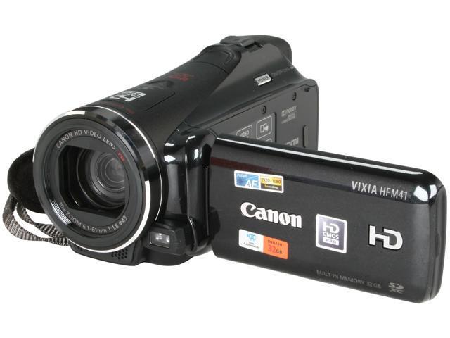 Canon VIXIA HF M41 Black High Definition HDD/Flash Memory Camcorder