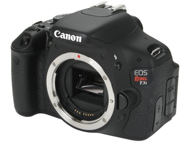 Canon EOS REBEL T3i 5169B001 Black 18.0 MP DSLR