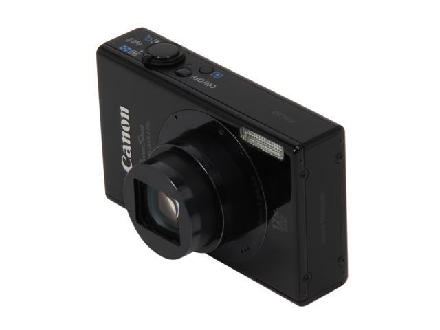 Canon PowerShot ELPH 530 HS Black 10.1 MP 12X Optical Zoom 28mm Wide Angle Digital Camera