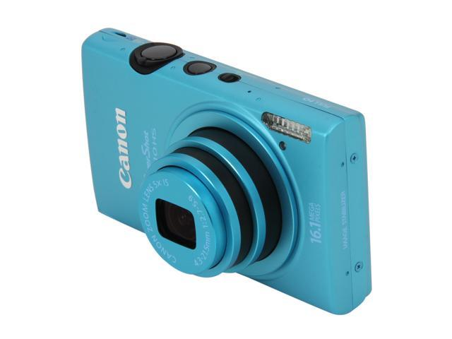 Canon ELPH 110 HS Blue 16.1 MP 5X Optical Zoom 24mm Wide Angle Digital Camera HDTV Output