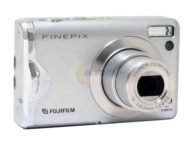 FUJIFILM FinePix F20 Silver 6.3 MP Digital Camera