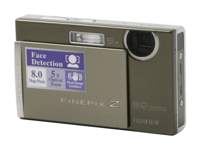 FUJIFILM Z100fd Silver 8.0 MP 5X Optical Zoom Digital Camera