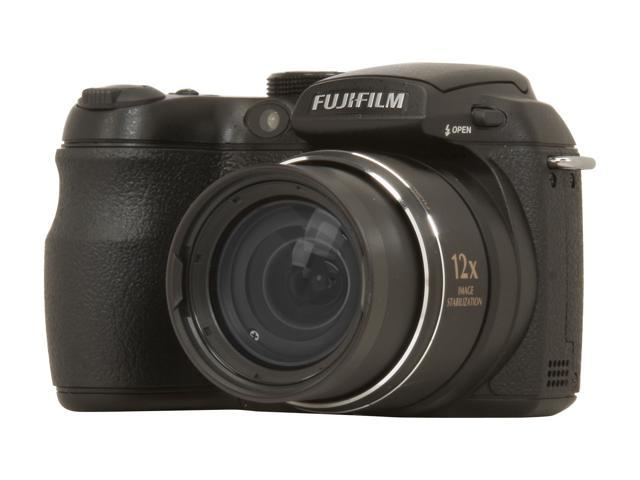 FUJIFILM FINEPIX S1500 Black 10.0 MP 12X Optical Zoom Digital Camera
