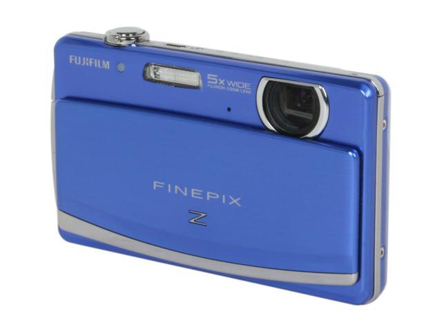 FUJIFILM Z90 Blue 14.2 MP 28mm Wide Angle Digital Camera