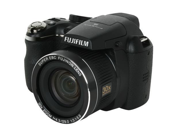 FUJIFILM S4000 Black 14.0 MP 30X Optical Zoom 24mm Wide Angle Digital Camera