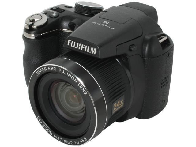 FUJIFILM S3200 Black 14.0 MP 24mm Wide Angle Digital Camera