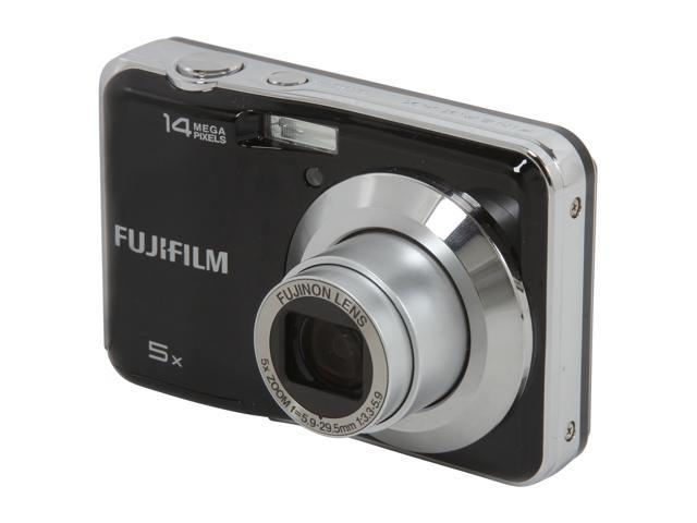 FUJIFILM AX300 Black 14.0 MP Wide Angle Digital Camera