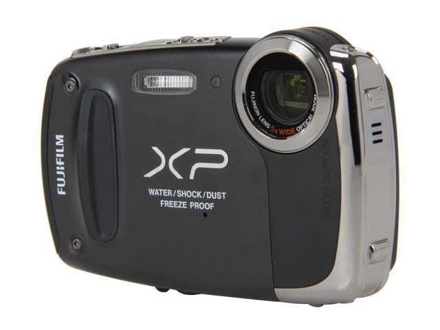 "FUJIFILM FinePix XP50 16233130 Black 14.4 MP 2.7"" 230K Action Camera"