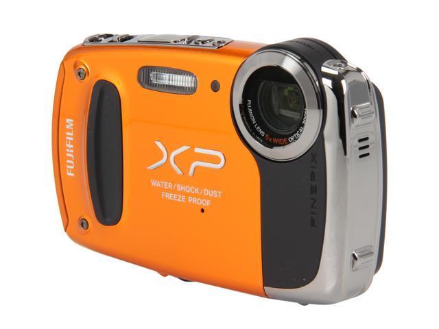 "FUJIFILM FinePix XP50 16233582 Orange 14.4 MP 2.7"" 230K Action Camera"
