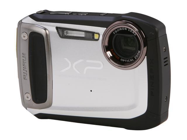 """FUJIFILM FinePix XP100 16230243 Silver 14.4 MP 2.7"""" 230K Action Camera"""