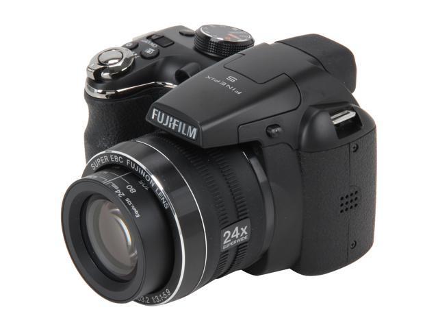 FUJIFILM S4200 Black 14.0 MP 24X Optical Zoom Wide Angle Digital Camera