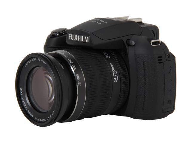FUJIFILM HS25EXR Black 16.0 MP 30X Optical Zoom Wide Angle Digital Camera