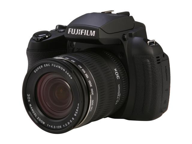 FUJIFILM HS30EXR Black 16.0 MP Wide Angle Digital Camera