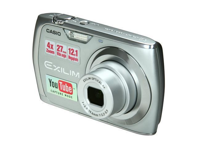 CASIO EXILIM EX-S8 Silver 12 MP Digital Camera