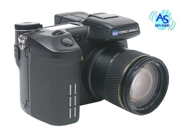 KONICA MINOLTA DiMAGE A2 Black 8.0MP 7X Optical Zoom 28mm Wide Angle Digital Camera