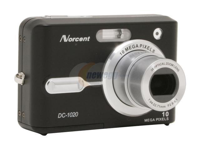 Norcent DC-1020 Black 10.1MP Digital Camera