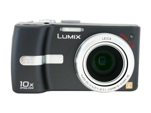 Panasonic DMC-TZ1 Black 5.0 MP Digital Camera