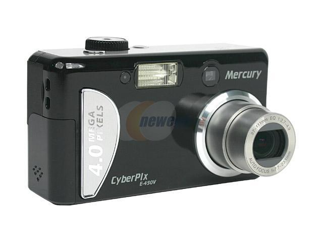 Mercury Cyberpix E-450V 2-Tone 4.0MP 3X Optical Zoom Digital Camera