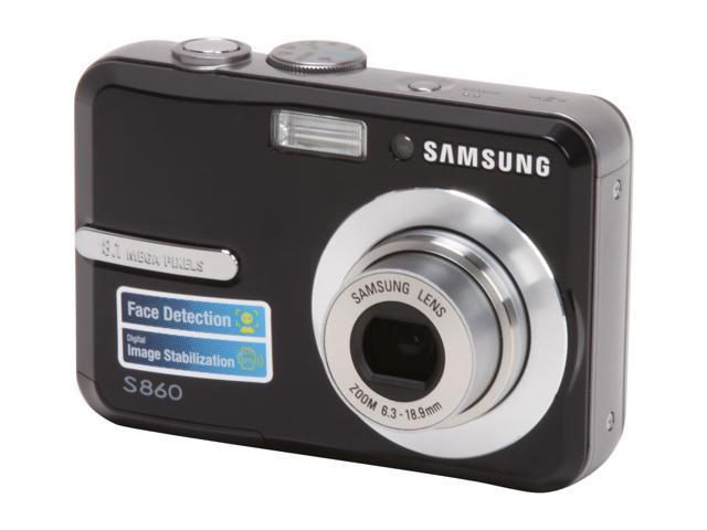 SAMSUNG S860 Black 8.1 MP Digital Camera