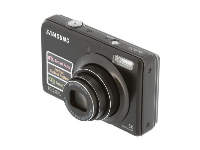 SAMSUNG SL420 Black 10.2 MP 5X Optical Zoom Digital Camera
