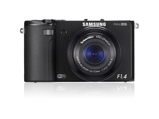 SAMSUNG EX2F EC-EX2FZZBPBUS Black 12.4 MP 24mm Wide Angle SMART Camera HDTV Output