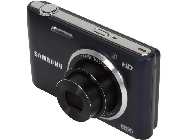 SAMSUNG ST150F Black 16.2 MP 5X Optical Zoom Digital Camera