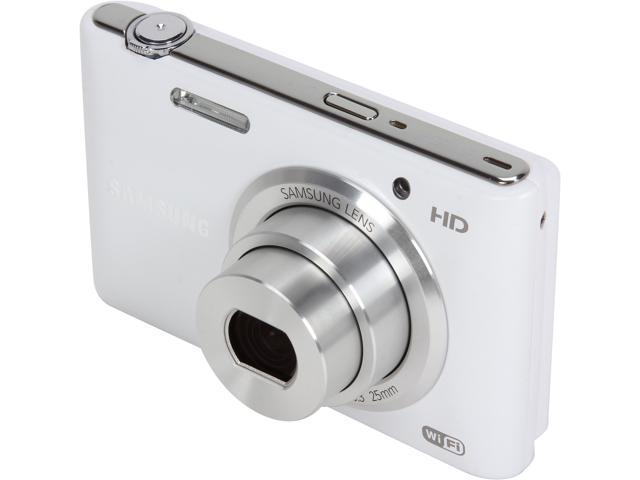SAMSUNG ST150F EC-ST150FBPWUS White 16.2 MP Compact Smart Camera