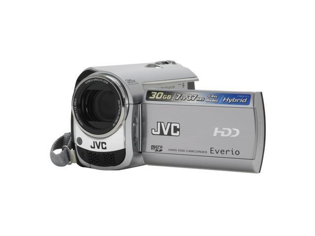 JVC Everio GZ-MG330 Silver 30GB Hard Disk Digital Camcorder