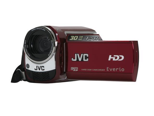 JVC Everio GZ-MG330 Red 30GB Hard Disk Digital Camcorder