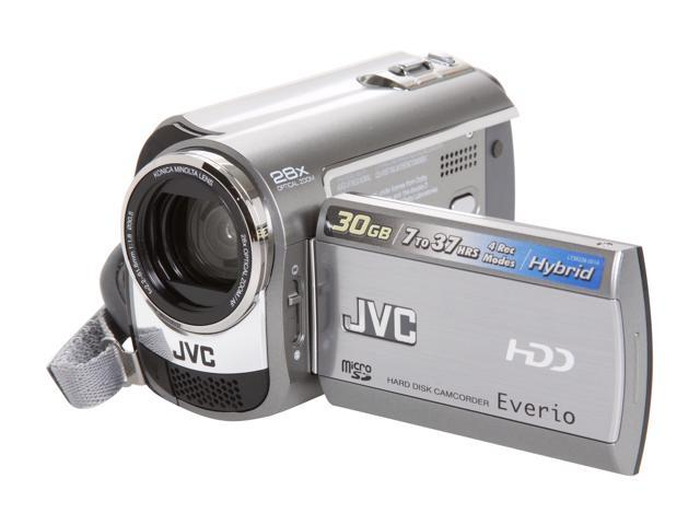 JVC Everio GZ-MG230 Silver 30GB HDD Digital Camcorder