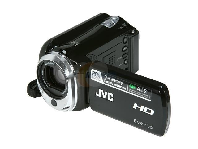 JVC Everio GZ-HD500 Black 1/5.8