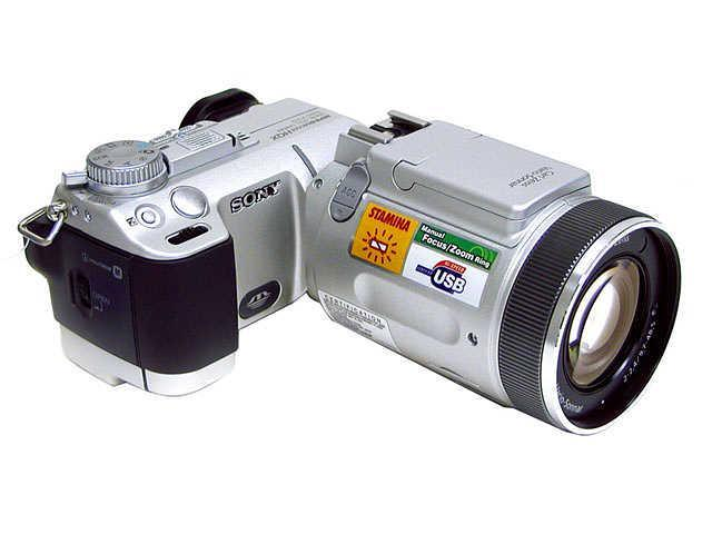 SONY DSC-F717 Silver 5.0MP 5X Optical Zoom Digital Camera