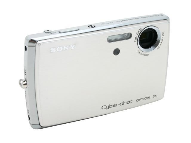 SONY DSC-T33 Silver 5.1MP 3X Optical Zoom Digital Camera