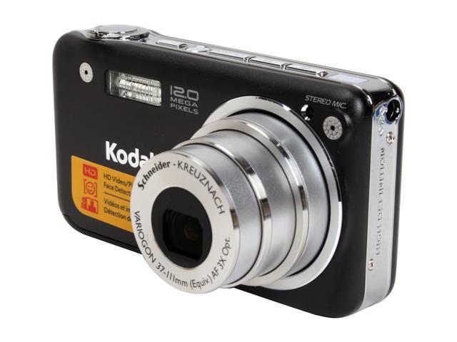 Kodak EasyShare V1253 Black 12.1 MP 3X Optical Zoom Digital Camera