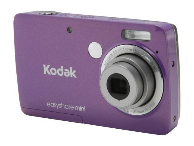 Kodak M200 Purple 10.0 MP 3X Optical Zoom Wide Angle MINI Camera