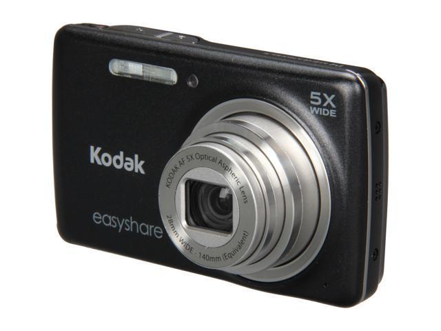 Kodak M552 Black 14.0 MP 28mm Wide Angle Digital Camera