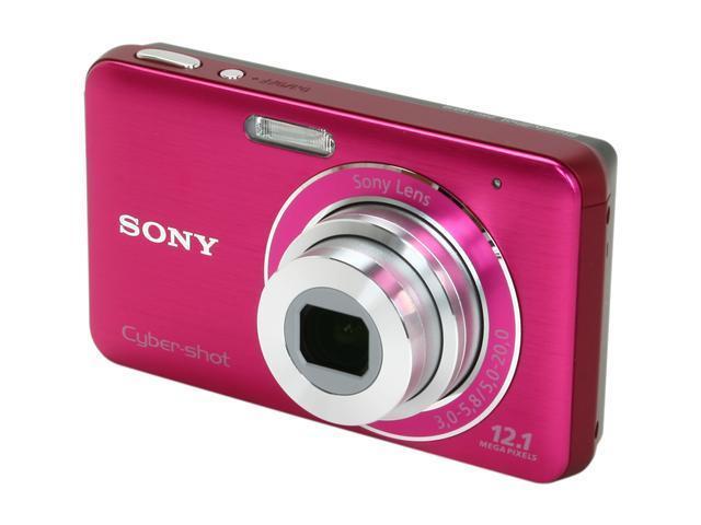 SONY Cyber-shot DSC-W310 Pink 12.1 MP 28mm Wide Angle Digital Camera