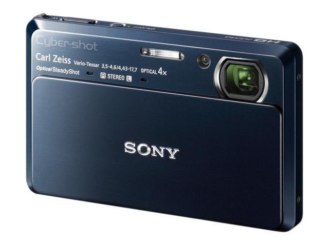 SONY Cyber-shot DSC-TX7 Blue 10.2 MP 25mm Wide Angle Digital Camera